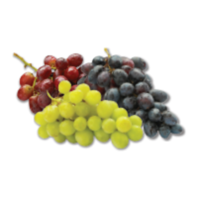 Red, Green or Black Seedless Grapes