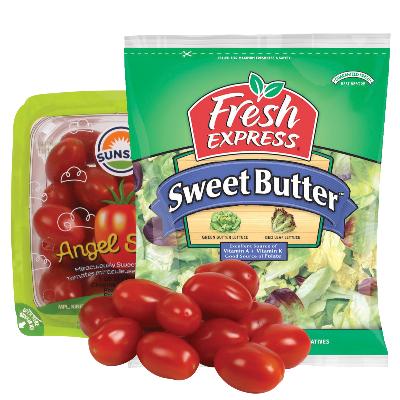 Fresh Express Salad Kits or Angel Sweet Tomatoes (pt)