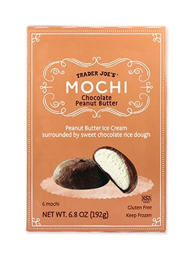 Chocolate Peanut Butter Mochi