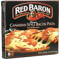 Classic Canadian Style Bacon Pizza