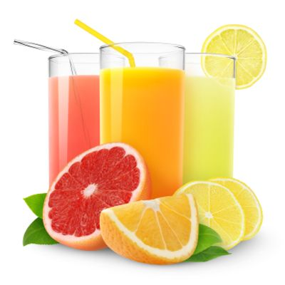 Refrigerated Orange Strawbery Banana Juice